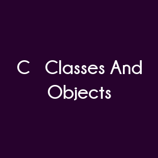 C++ Programming - C++ Classes And Objects Multiple Choice