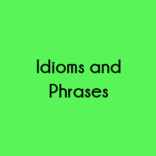 English - Idioms and Phrases Questions and Answers | Eduzip
