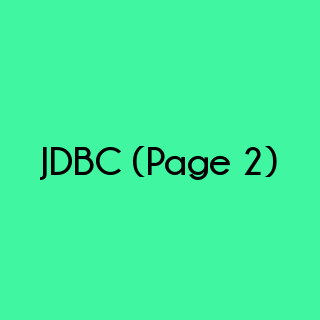 Java Programming - JDBC Multiple Choice Questions and